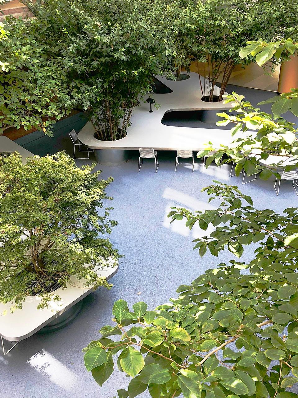 上海书桌花园景观设计|  大观景观设计
